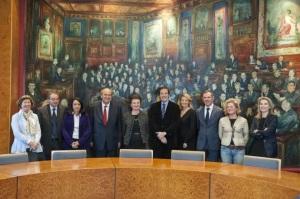 Mairie de Paris : avec mes collègues du groupe UDI